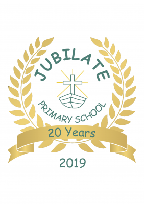 Jubilate 20 Years Logo